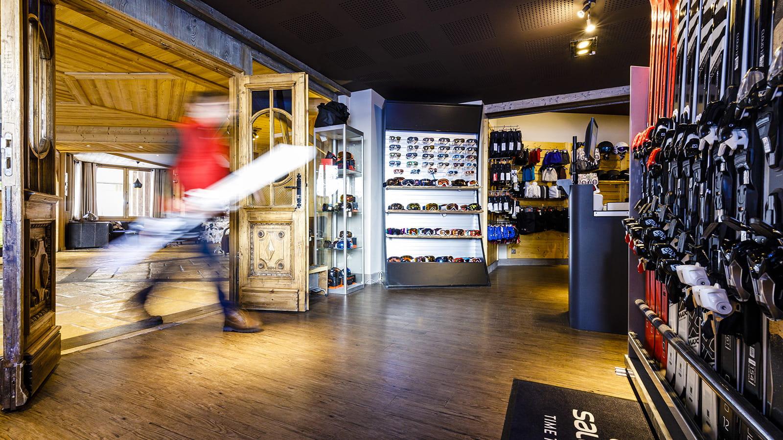 Skishop: Verhuur, verkoop en onderhoud