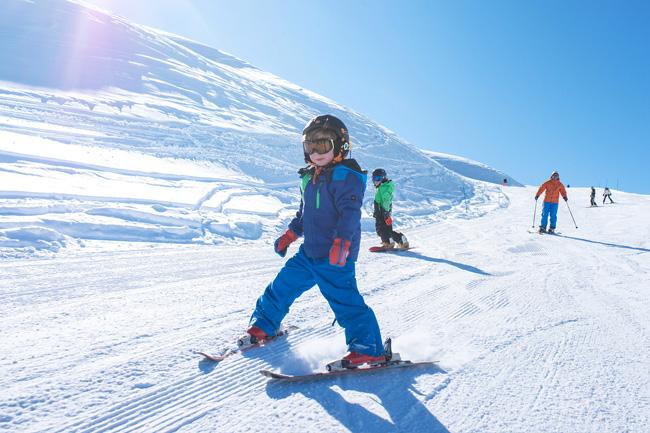 S'initier au ski de printemps
