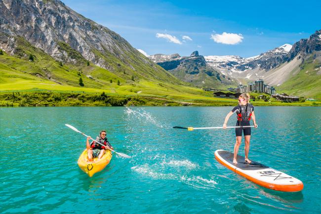 Vacances d'été à la montagne en famille