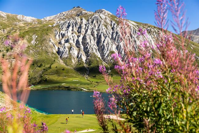 Golf à Tignes