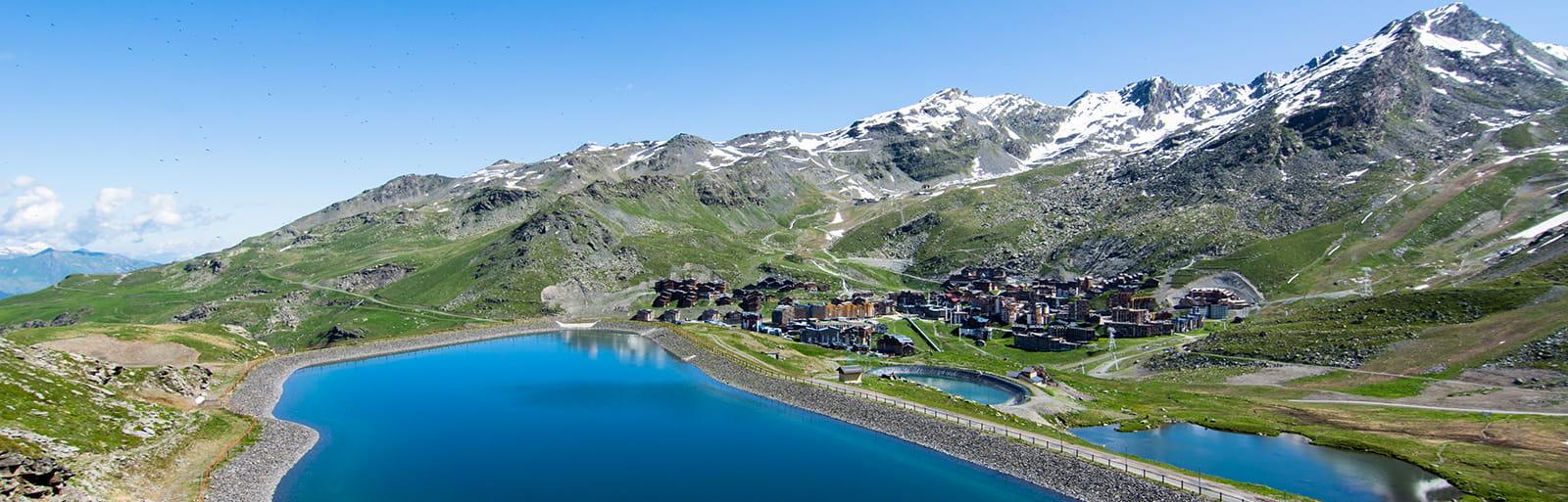 Découvrez les sentiers les plus proches des établissements Montagnettes de Val Thorens