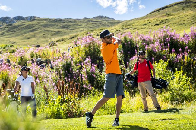 Des structures de golf sont également à votre disposition