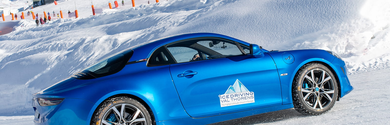 Ice driving à Val Thorens