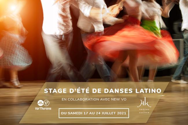 Stage de danses latino à Val Thorens
